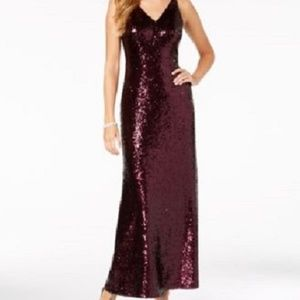 New Night Way Evening Formal Prom Sequin Gown